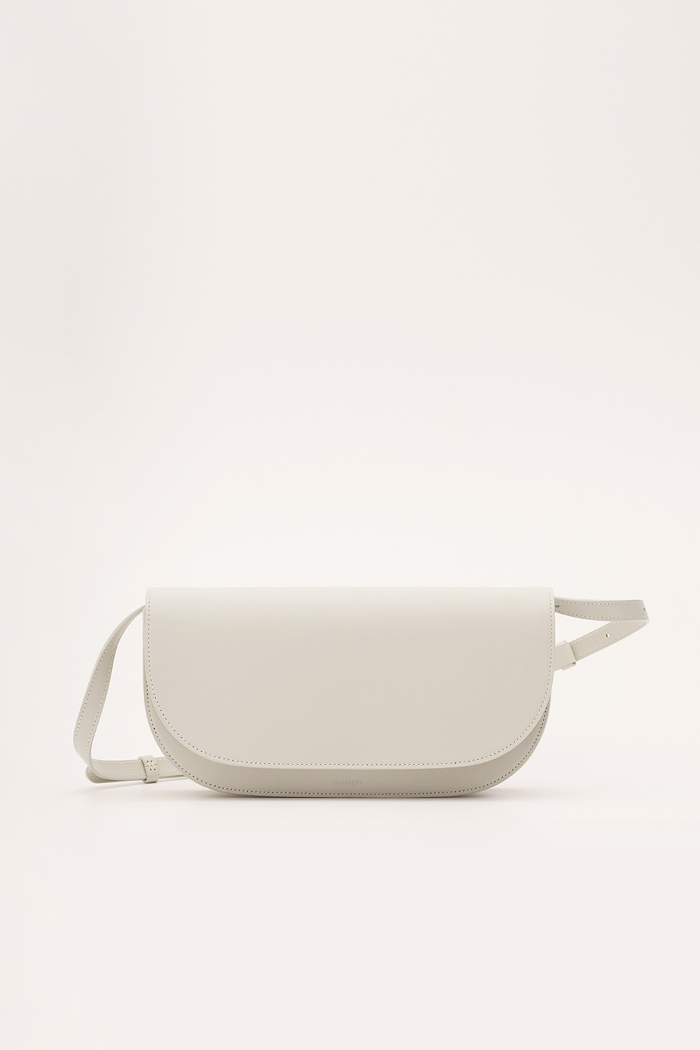 Broad Bag in Pale Stone
